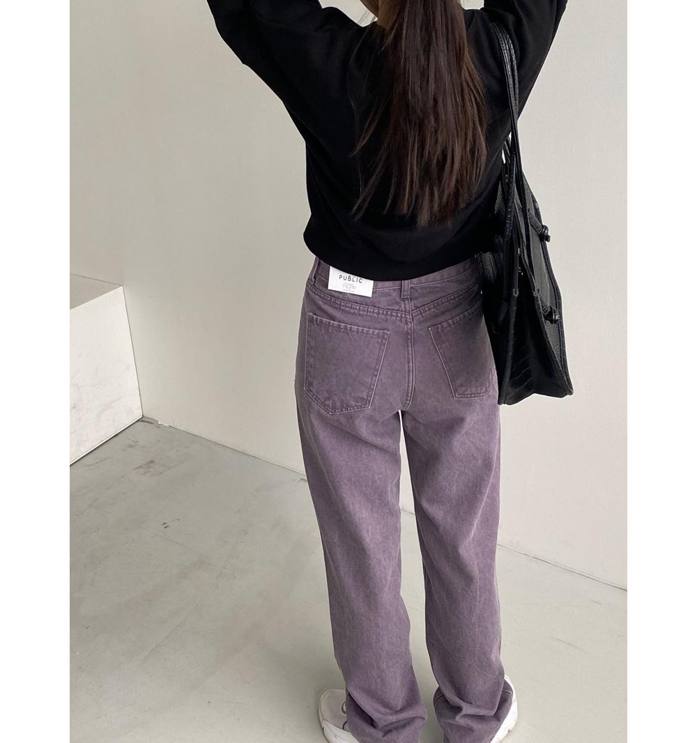 긴팔 티셔츠 모델 착용 이미지-S1L41