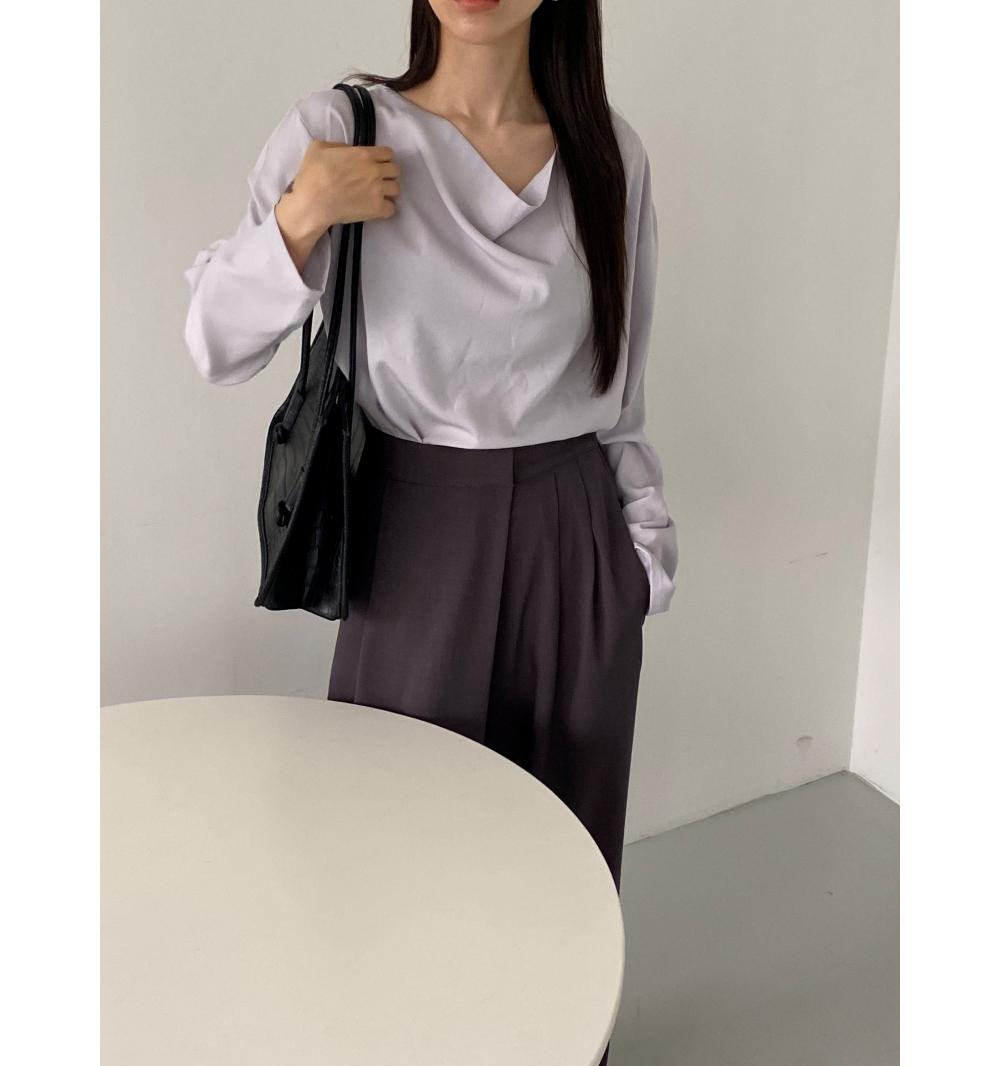 멜빵 스커트/바지 모델 착용 이미지-S1L23