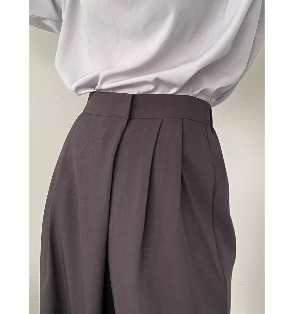 멜빵 스커트/바지 모델 착용 이미지-S1L16